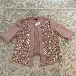 Gap XS sequin blazer, brand new with tags